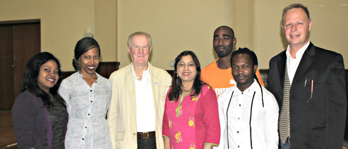 Renowned Criminologist Delivers Guest Lectures at UKZN