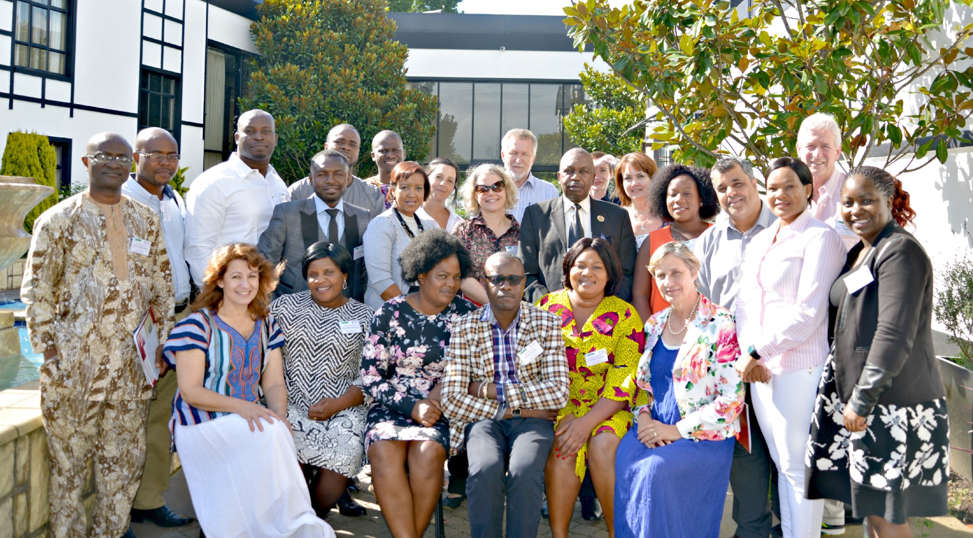 Participants at the Third African Health Research Ethics Symposium.