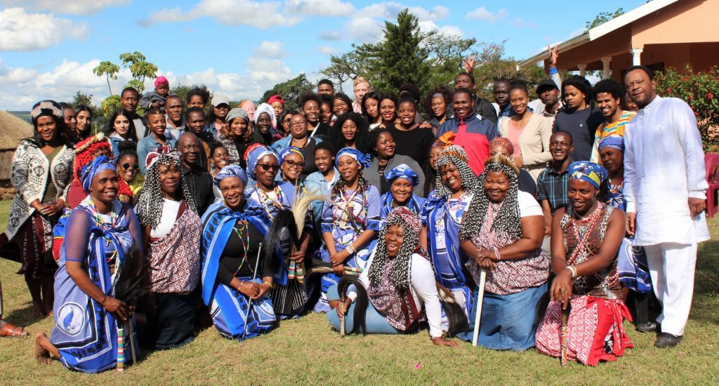 Psychology students visit healing village in KZN