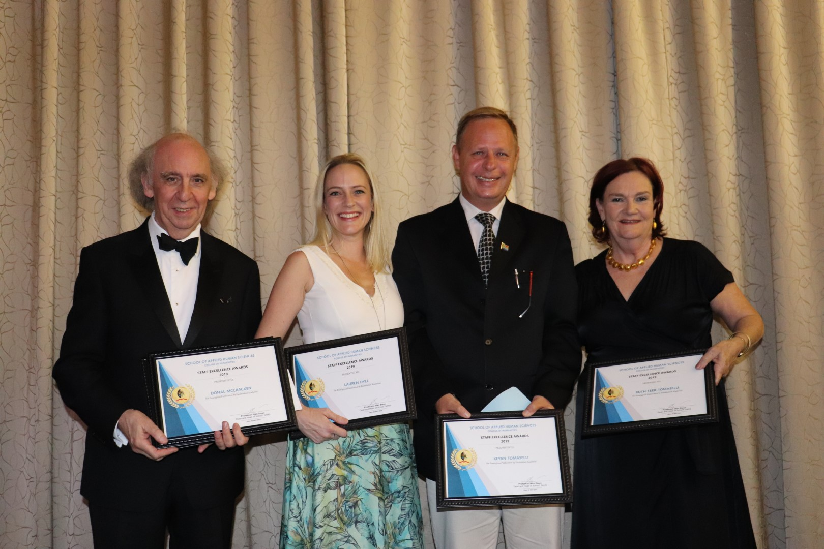 Highlights from the School of Applied Human Sciences staff awards