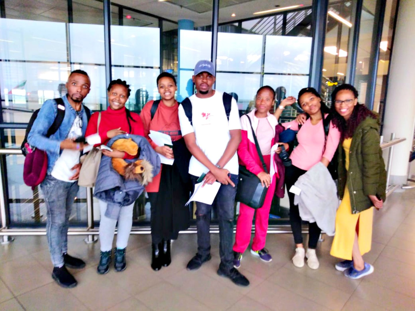 Six UKZN social work students were in Germany on an exchange programme for two weeks.